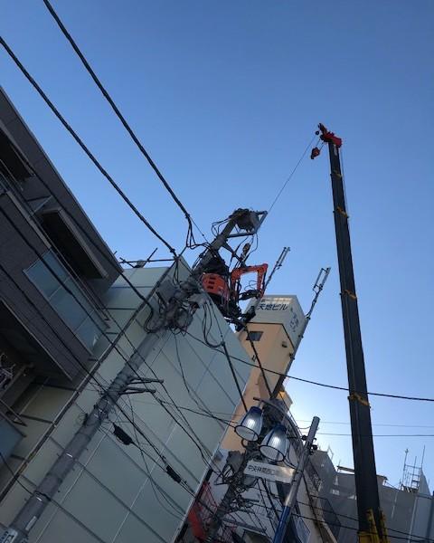 大和市中央林間 RC3階建 建物60坪330万円(税別)